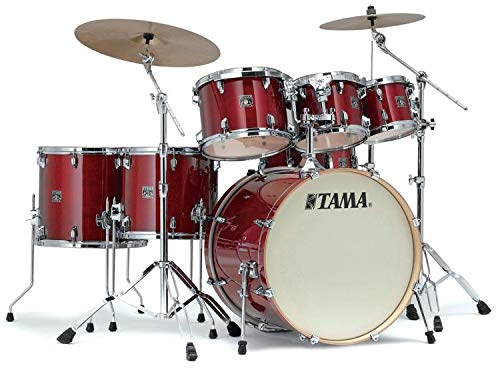 Tama Superstar Classic 7-piece Shell Pack - Cherry Wine - Drum Classic Super