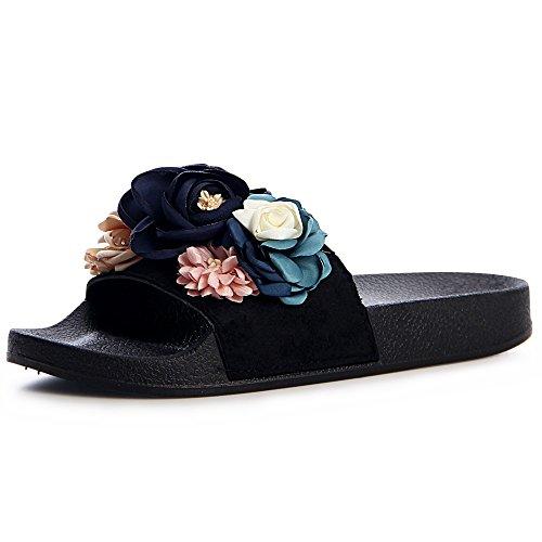 Sandales Femmes topschuhe24 Noir topschuhe24 Sandales Sandalettes topschuhe24 Femmes Sandalettes Sandales Noir Femmes wI4zqUI