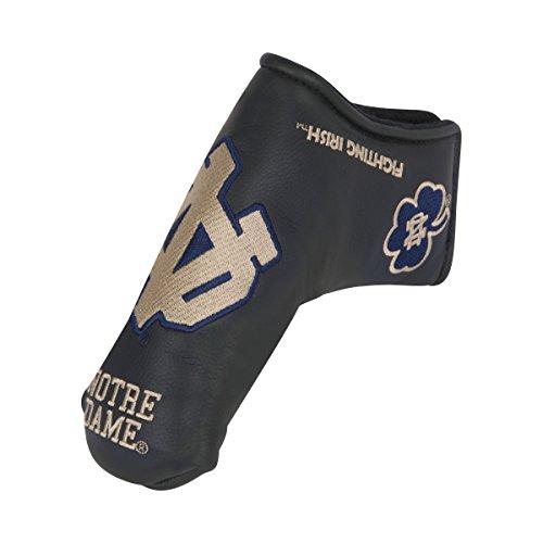 - Team Effort Notre Dame Fighting Irish Black Blade Putter Cover