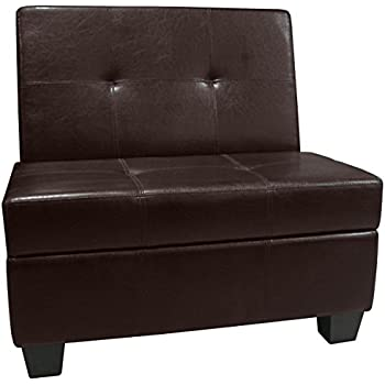 Amazon Com Epic Furnishings Butler Microfiber Upholstered