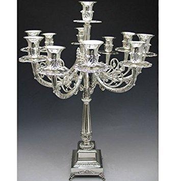 (Silver Plated Candelabra 11 Branch)