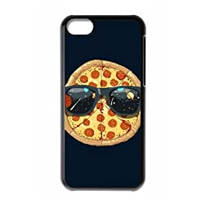 iPhone 5c Cell Phone Case Black Cool Pizza ICE Personalized DIY Cell Phone Case