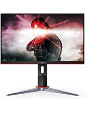 "AOC 27G2 27"" Frameless Gaming IPS Monitor, FHD 1080p, 1ms 144Hz, FreeSync, HDMI/DP/VGA, Height Adjustable, 3-Year Zero Dead Pixel Guarantee"