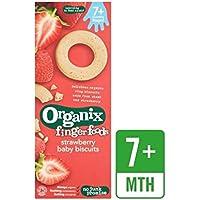 Organix Strawberry Baby Biscuits 54g