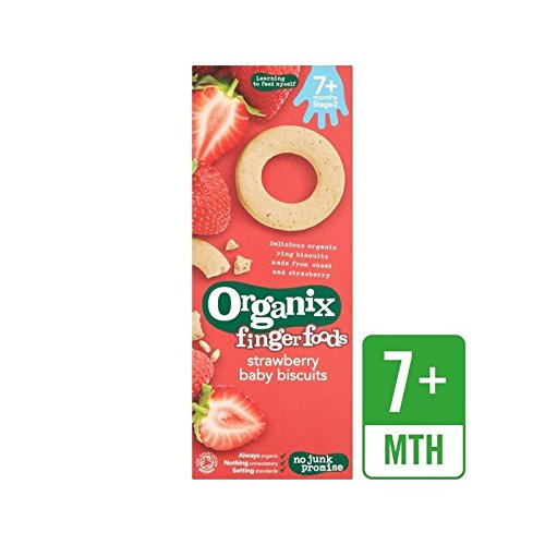 Organix Strawberry Baby Biscuits 54g