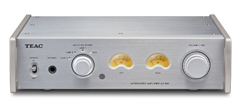Teac AX 501 Integrated Amplifier Silver