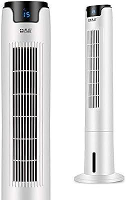 YQ WHJB Ventilador De La Torre con Control Remoto,silencioso Oscilante Ventilador Sin Aspas Stand Up Ventilador De Enfriamiento 3 Velocidad Enfriador De Aire con ...