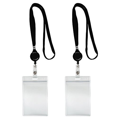 Lanyard Holder Retractable Badge Vertical product image