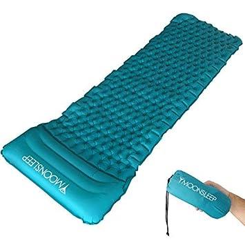 Colchoneta Inflable de Camping Frostfire con una almohada inflable separada: Amazon.es: Deportes y aire libre