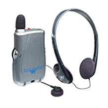 Williams Sound Pocket Talker Ultra with Single Minibud and Headset, 0.42 Kg