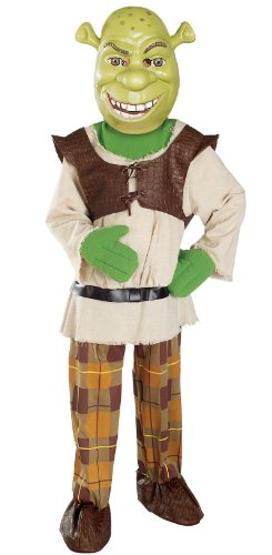 Deluxe Shrek Costume - Medium