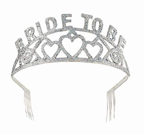 Forum Novelties Glitter Tiara (Bride to Be)