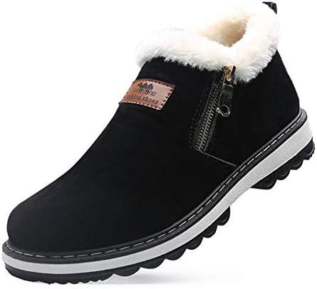 メンズスノーブーツ 雪靴 防水 防寒 防滑 スリッポンブーツ ウィンターブーツ 軽量 ショートブーツ 滑り止め 綿靴