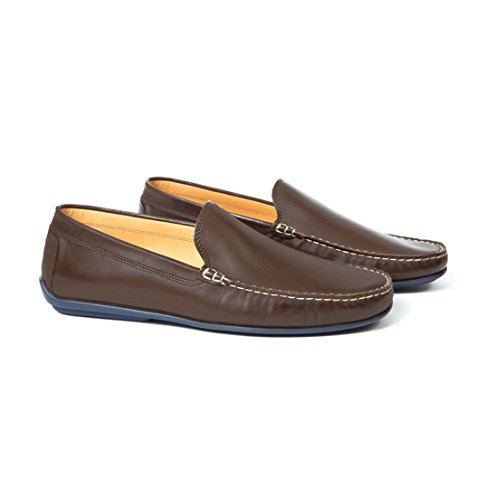 Loafers Austen Leather Men's Heller Driving Classics Brown qSScR8