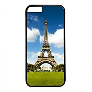 """Lilyshouse Paris Eiffel Tower 004 Hard Shell with Black Edges Cover Case for Iphone 6(4.7"""") by ruishername"""