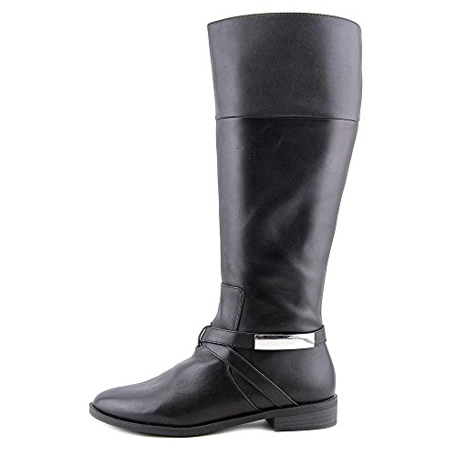 Women 7 Black 5 Egila Calf Boot US Knee Wide High Alfani qX6tq