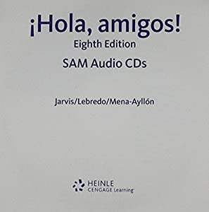 Sam Audio CD Program For Jarvis Lebredo Mena Ayllons Hola Amigos