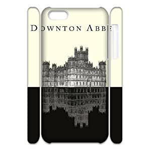 3D Yearinspace Downton Abbey Castle Poster Case For iPhone 5C Pattern, Iphone 5c Cases For Girls Cheap Protective Cute For Girls With White