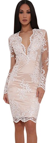 TomYork Floral Overlay Lined Dress product image
