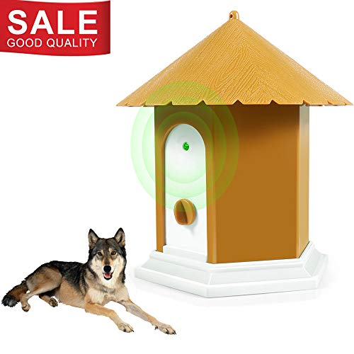 (APlus+ Ultrasonic Anti Barking Device, Sonic Bark Deterrents, Bark Control and Waterproof, Indoor Outdoor, Hidden Anti-Barking Device,Dog Training and Control)