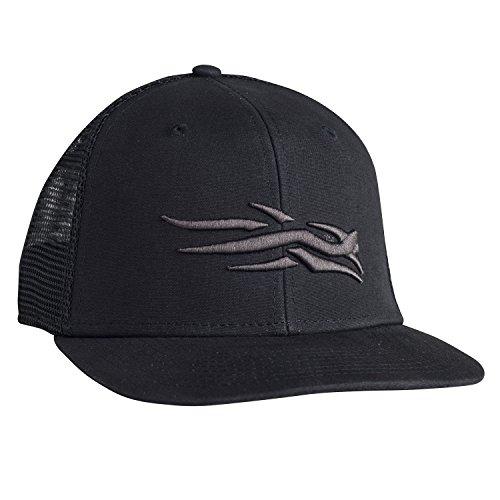 SITKA Gear Flatbill Cap SITKA Black One Size Fits All