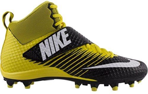 (Nike Mens Lunarbeast Pro TD Football Cleats 10 Yellow/Black)
