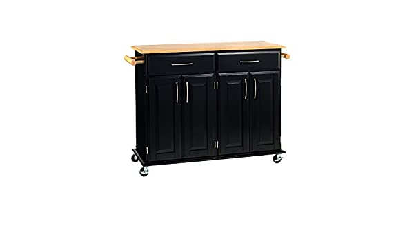 Dolly Madison Kitchen Cart Woodwhite Home Styles Home