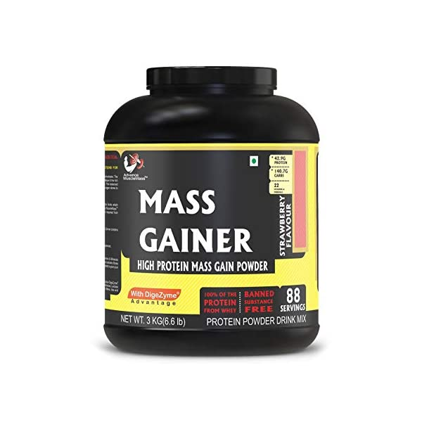 Best Mass Gainer Supplement in India 2020