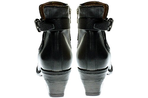 38 Schwarz Stiefelette Gr 860203 A Damen Leder 98 S X81xxw4q