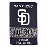 """Master Industries San Diego Padres Sublimated Cotton Towel- 16"""" x 25"""""""