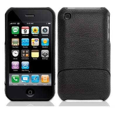 Griffin Elan Form Case for iPhone 3G/3GS - Black with Sky Blue Trim