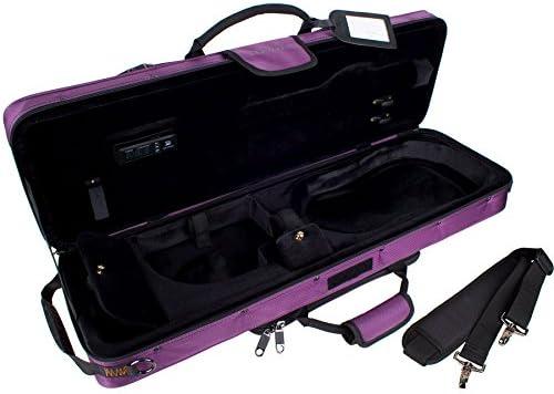 Protec PS144TLPR - Estuche para violín, color violeta: Amazon.es: Instrumentos musicales