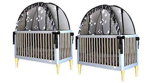 Bluestar Portable Folding Cot Baby Crib Bed Mosquito Net Landing