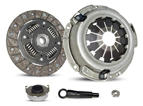 Clutch Kit works with Honda Insight Base Hatchback 3-Door 2000-2006 1.0L 995CC 61Cu. In. L3 ELECTRIC/GAS SOHC Naturally Aspirated (Engine: ECA1, FI) (Honda Insight Parts)