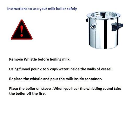 Premier Aluminium Milk Boiler-2Ltrs