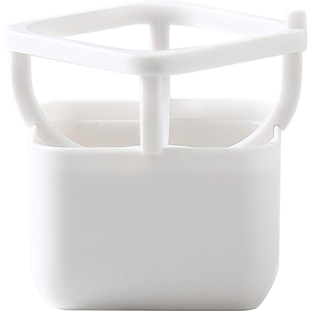 Plastic Drying & Storage Holder for Puff, Set of 2 (White)