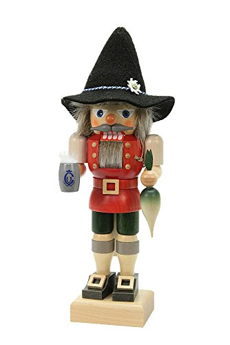 (German Christmas Nutcracker Bavarian - 28cm / 11 inch - Christian Ulbricht)