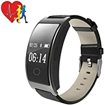 ZEERKEER Fitness Tracker HR, CK11S Activity Tracker Watch with Heart Rate Monitor, IP67 Waterproof Smart Bracelet with Calorie Counter Pedometer Watch for Android and iOS,women watch/kids watch