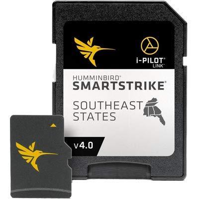 Humminbird SmartStrike Southeast States Edition Digital GPS Lake Maps, Micro SD Card, Version 4 by Humminbird