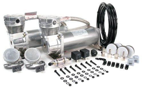 (VIAIR 480C 200 PSI Dual Performance Value Pack - Pewter)