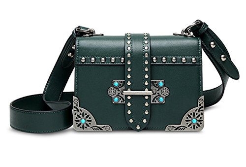 Travel Women's Square Handbag Messenger Bags Bag Casual Green Bags Small Shoulder rAAawqX