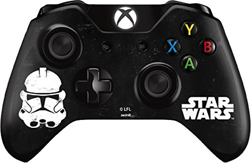 Storm Trooper Face - Skin for Xbox One - Controller