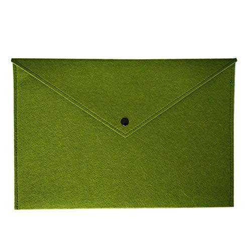Grey990 Felt Envelope A4 File Document Bag Holder File Pocket Organizer School Office Supplies - Shape Sorter Fabric