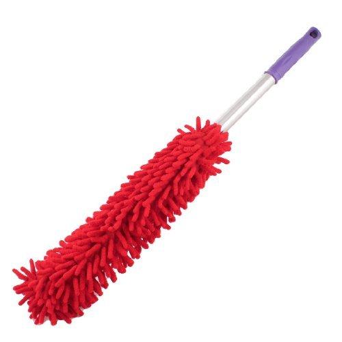 eDealMax Microfibre Car la Maison Nettoyage Chiffon outil Pinceau rouge fonc 22.8