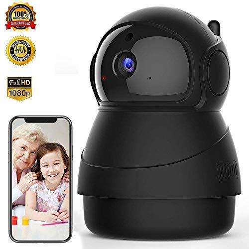 1080p HD Indoor Wireless Security Camera,Dome Camera, WiFi Home Surveillance IP Camera for Baby/Elder/Pet/Nanny Monitor,Surveillance Monitor 2-Way Audio