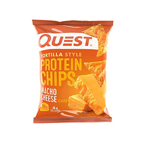 Quest Tortilla Style Chips - Nacho - 30 Count