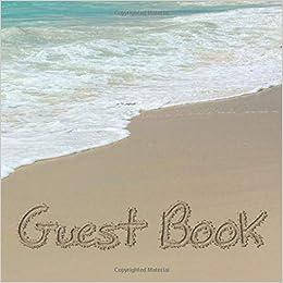 Wedding Ceremony Party STARFISH Beach Ocean Guest Book /& Pen Set 3 psc