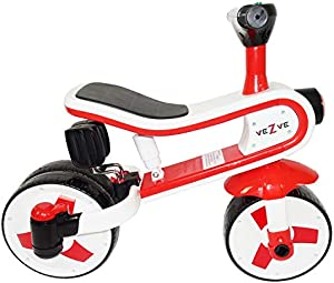 Toddler Kids Red Tricycle Convertible Balance Bike 24 Months to 6 Years Preschool Safe Ride-on 2 in 1 Toy Walker