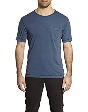 by Thaddeus Beau Short Sleeve Solid Crew Neck T-Shirt