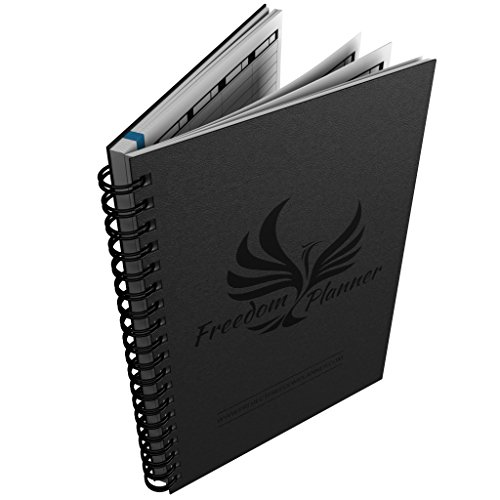 Freedom Planner Pro - Best Day Planner Organizer for Happiness, Productivity & Financial Abundance – Undated Gratitude & Goals Journal Guaranteed to Get You Organized Daily, Weekly & Monthly!